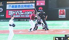 【ヤフオクドーム】バックネット広告掲載のお知らせ